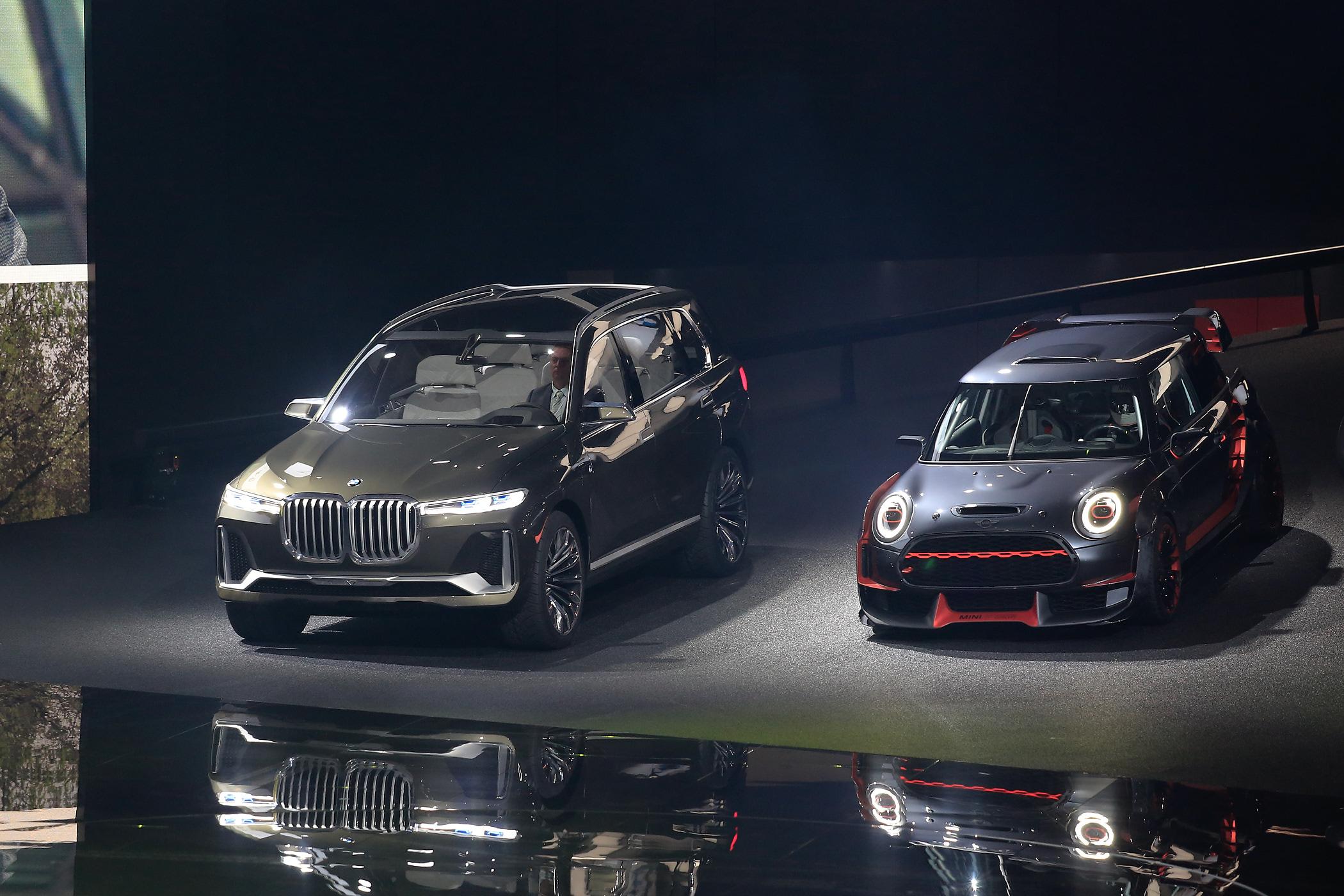 Frankfurt Iaa Bmw X7 Concept