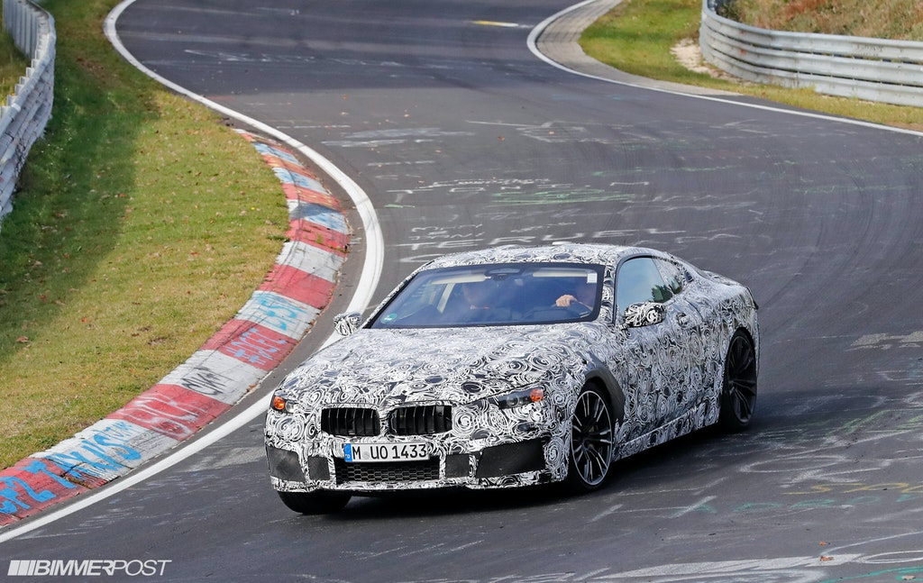 BMW M8 Coupe Spied Inside And Out