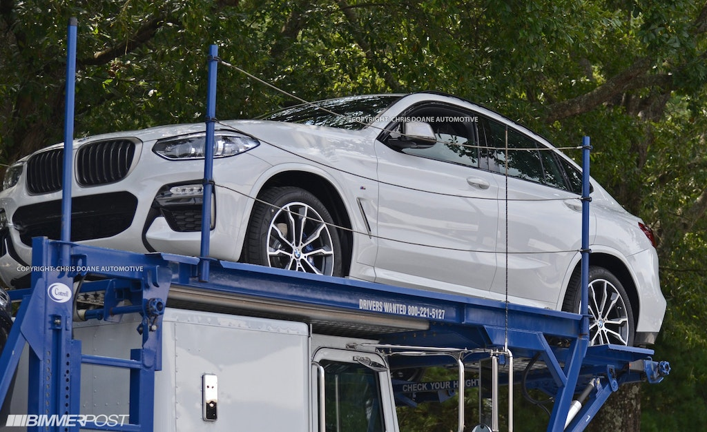 Redesigned 2018 BMW X4 Revealed in Many Colors