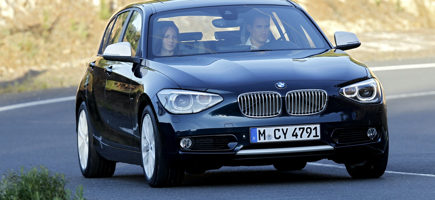 2012 BMW 1-Series Hatchback (F20) Official Information - Specs ...