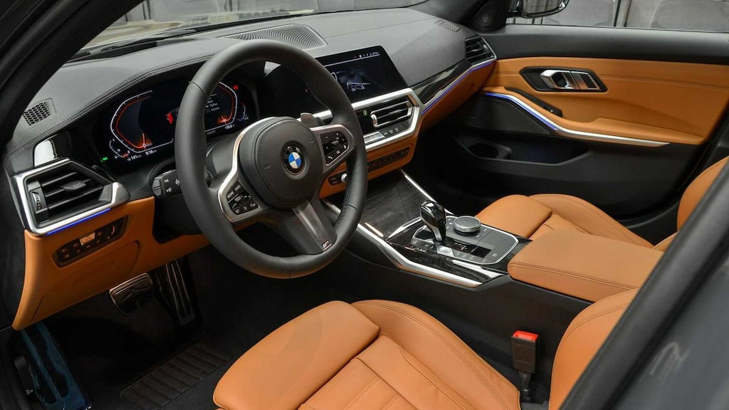Dravit Grey Individual G20 3 Series With Cognac Merino Leather Is