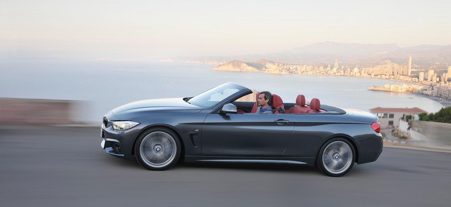 BMW 4-Series Convertible (F33) 435i 428i Official Specs