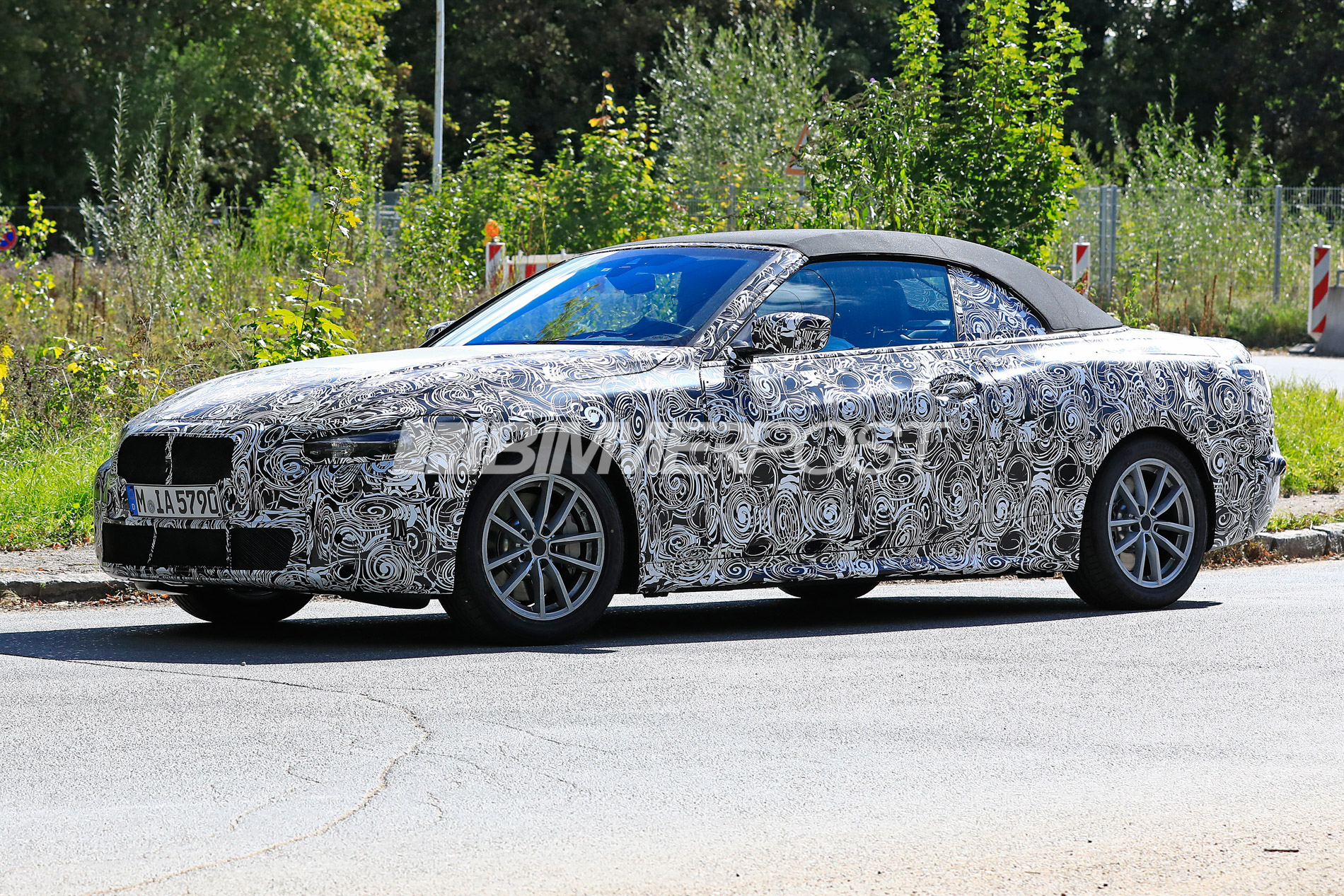 First Look At Next Gen Bmw 4 Series Convertible G23