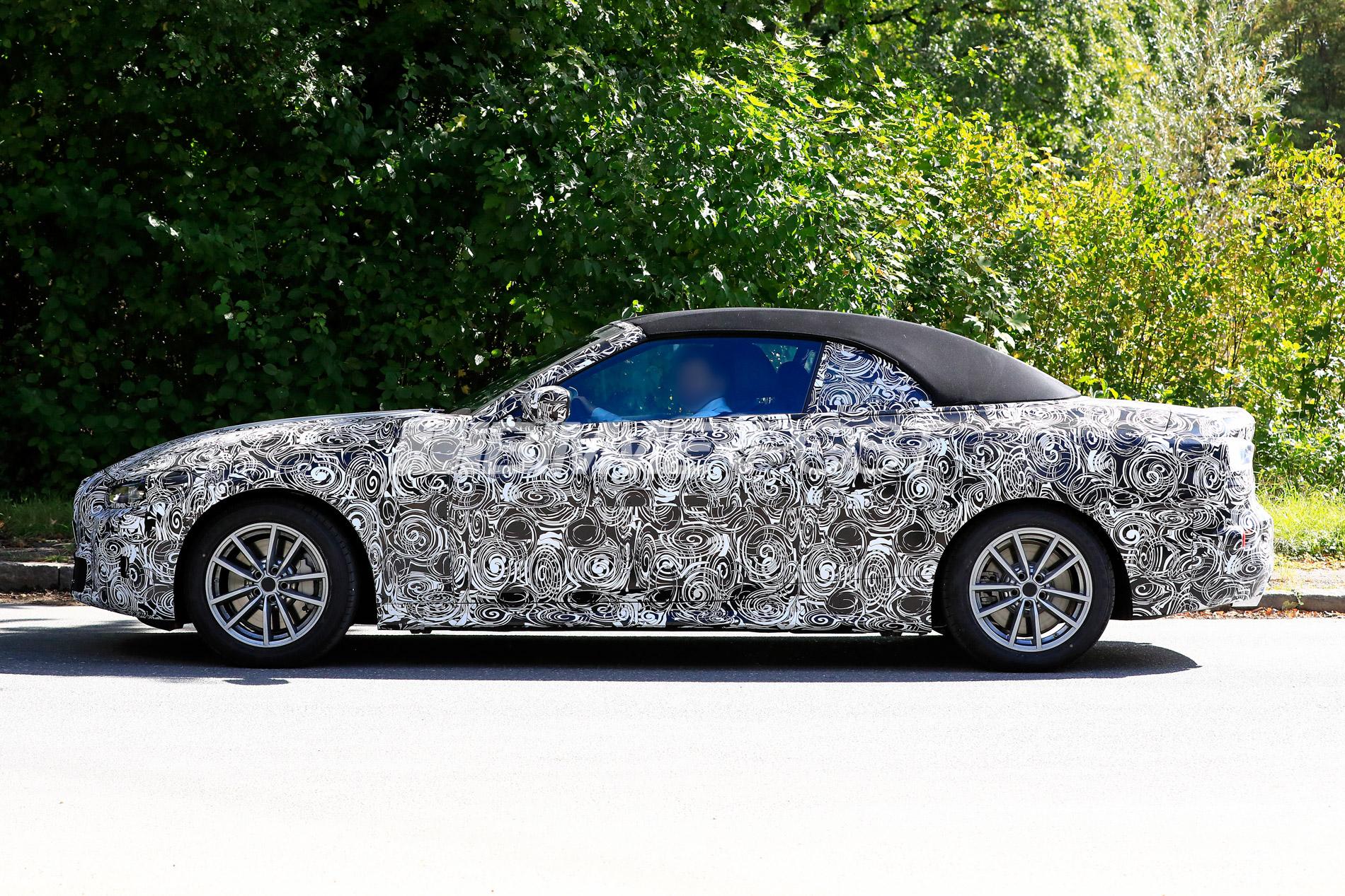 First Look at Next Gen BMW 4 Series Convertible (G23 ...