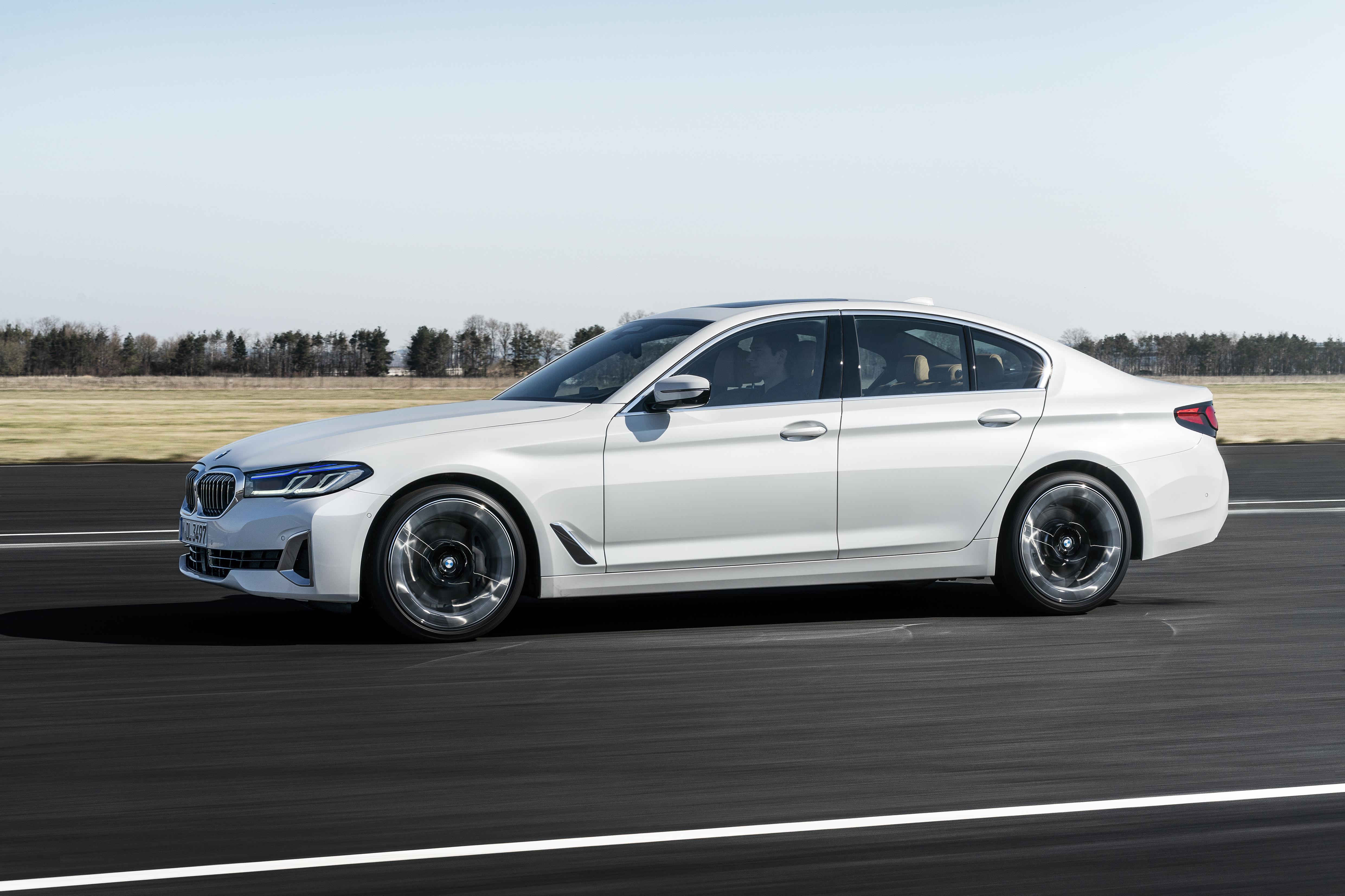 introducing the new updated 2021 bmw 5 series sedan g30 lci