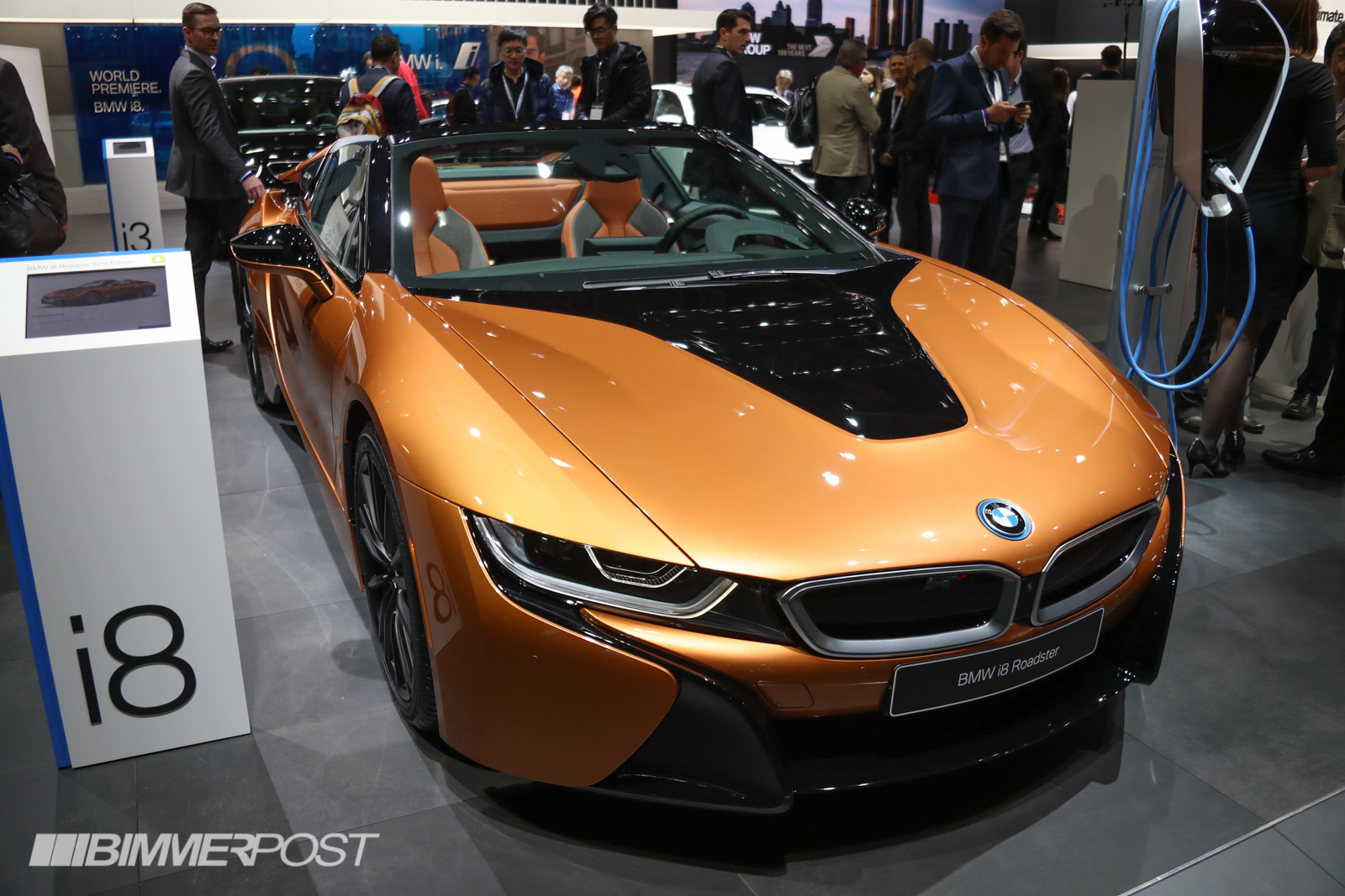 Detroit 2018 Updated Bmw I8 Coupe World Premiere I8 Roadster