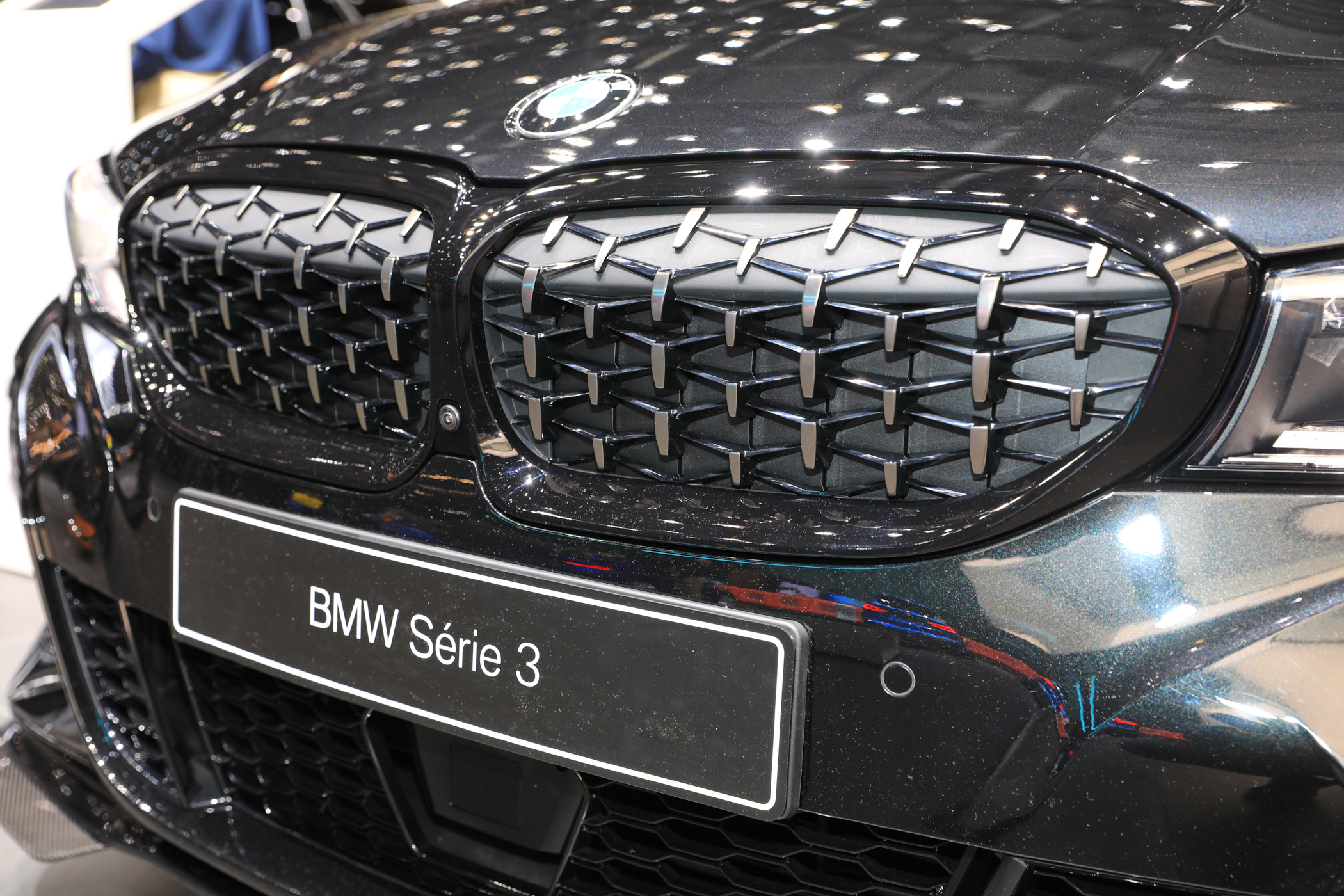 2019 geneva autoshow  bmw m340i with m performance parts