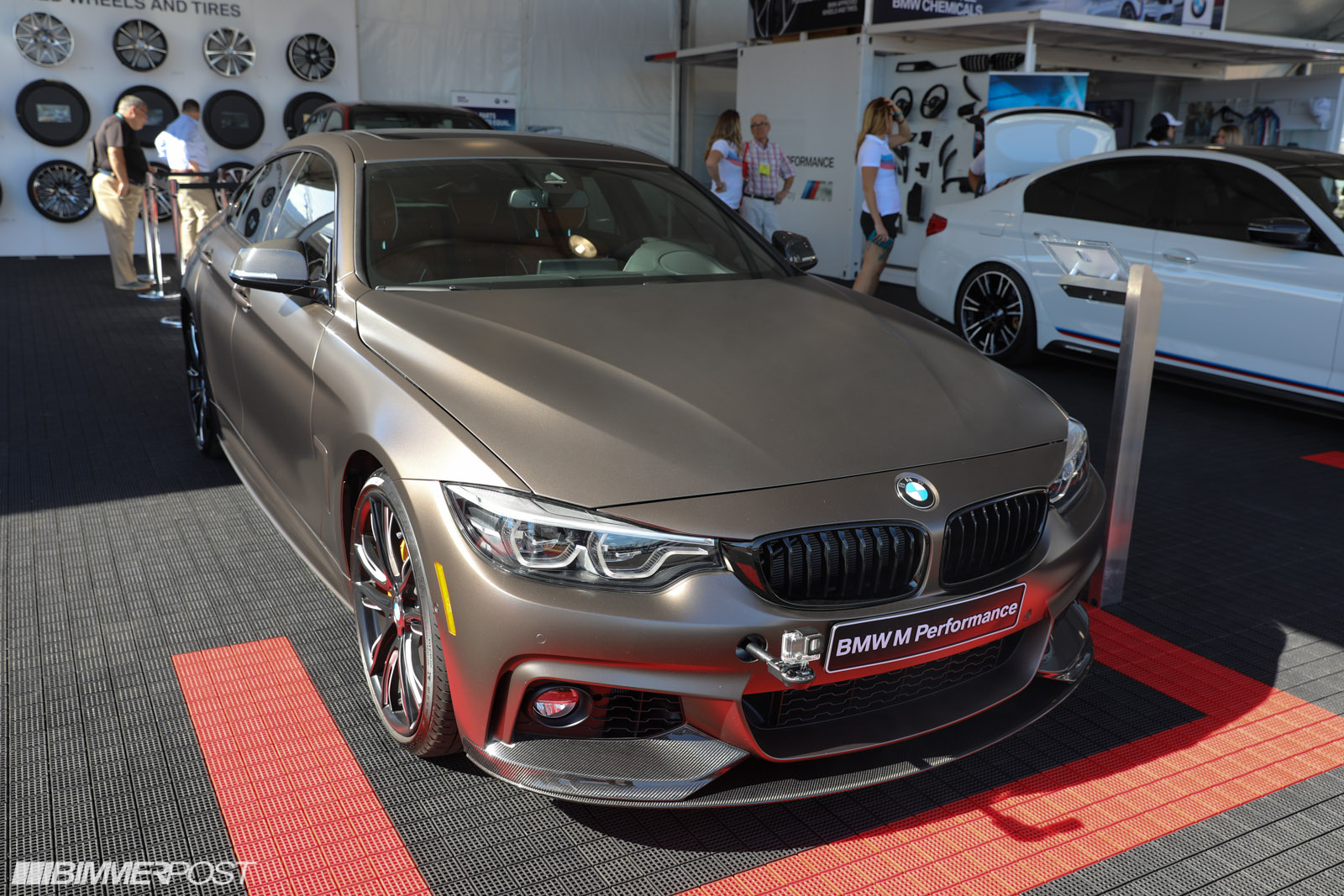 sema 2017 bmw 440i gran coupe with m performance parts. Black Bedroom Furniture Sets. Home Design Ideas