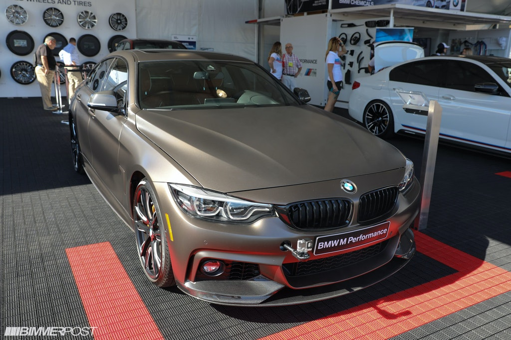 sema 2017: bmw 440i gran coupe with m performance parts