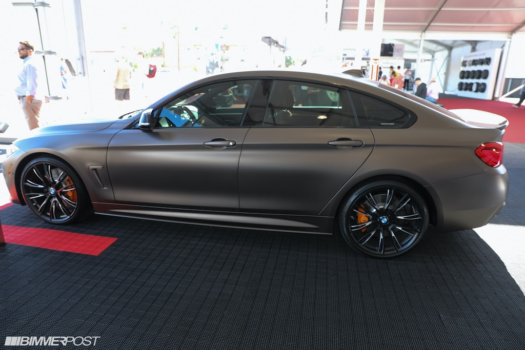 BMW 440i Gran Coupe With M Performance Parts Live At SEMA