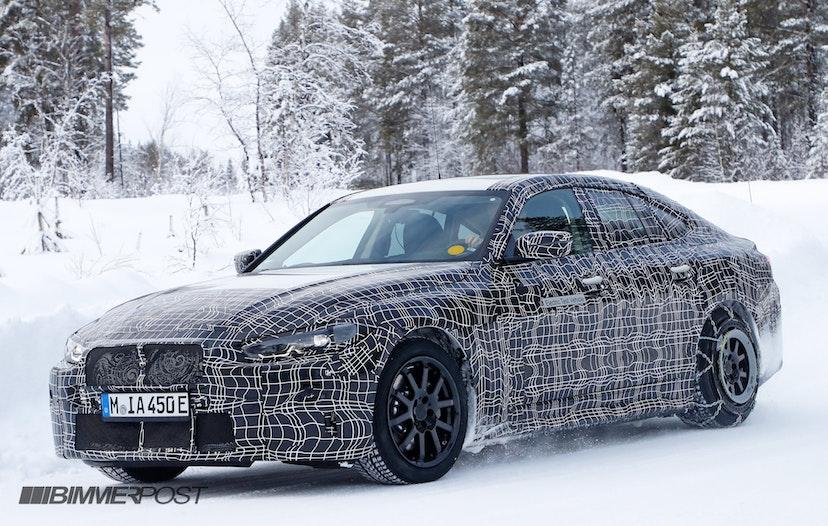 2021 BMW i4 7
