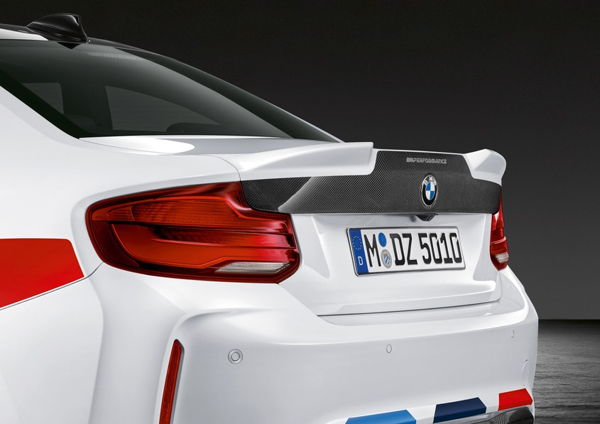 Bmw M Performance Parts Revealed For M2 Competition