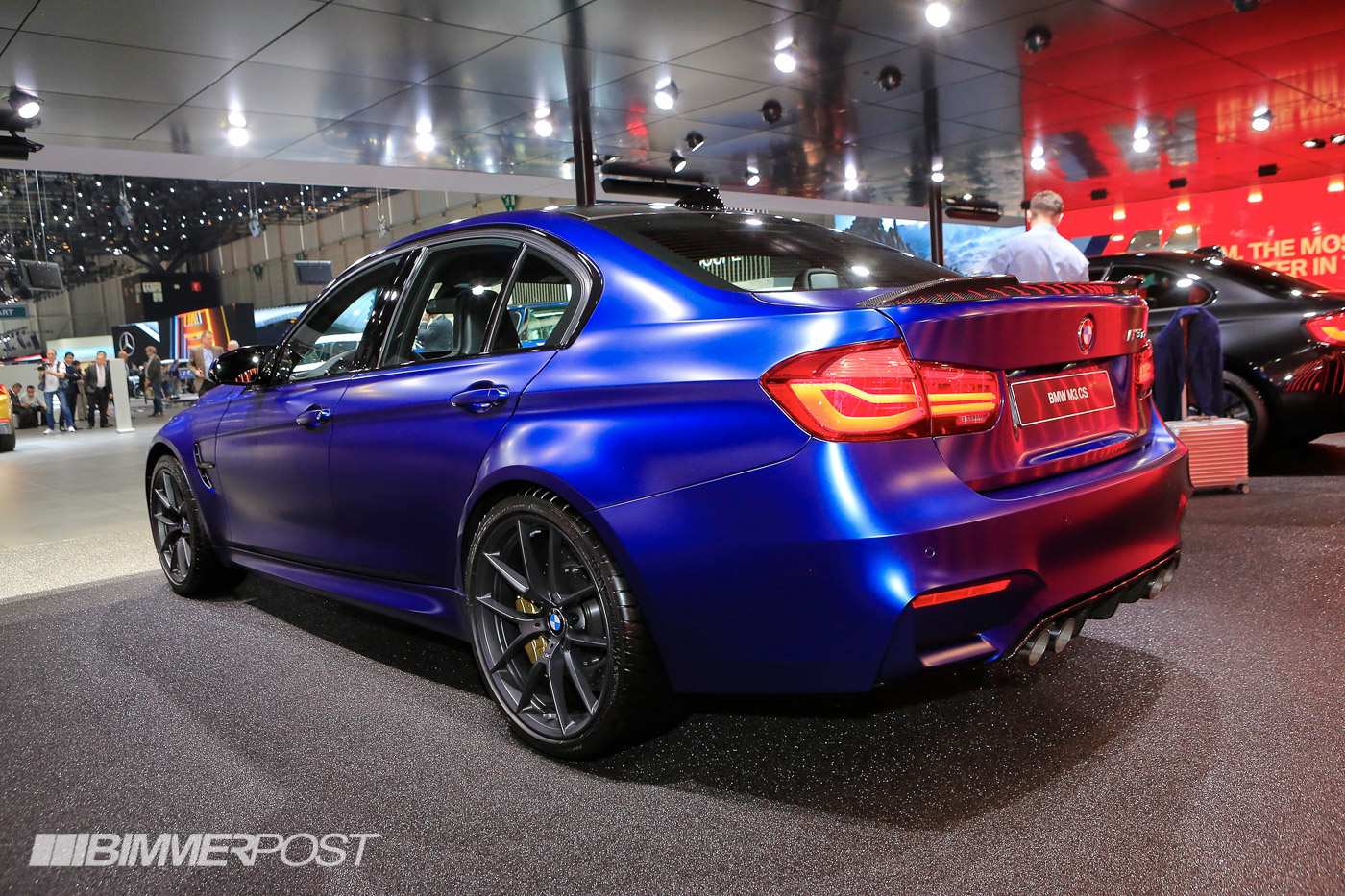geneva 2018 bmw m3 cs in frozen dark blue ii. Black Bedroom Furniture Sets. Home Design Ideas