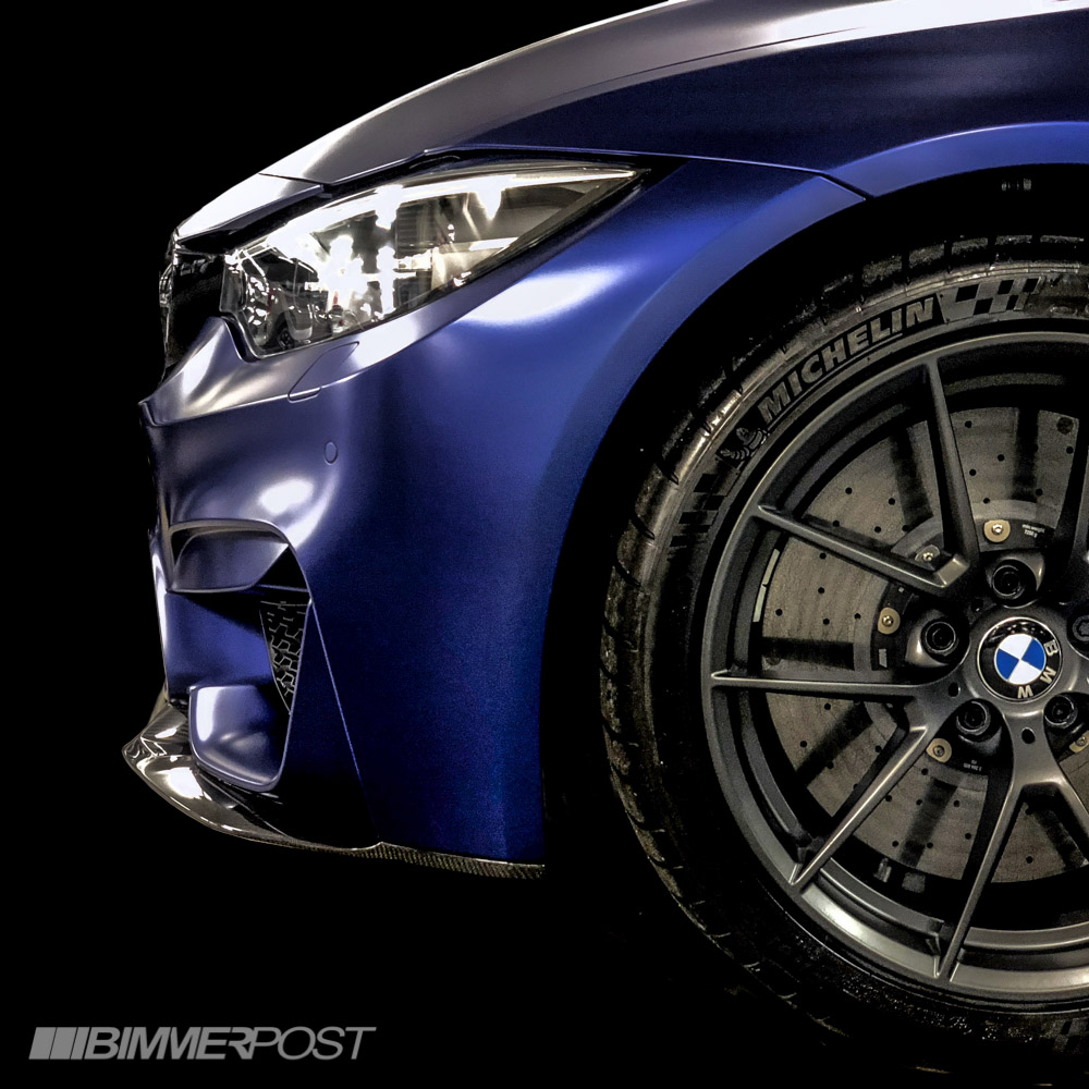 Bmw M3 Cs: BMW M4 CS In Frozen Dark Blue II