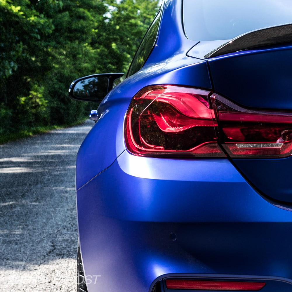 BMW M4 CS In Frozen Dark Blue II