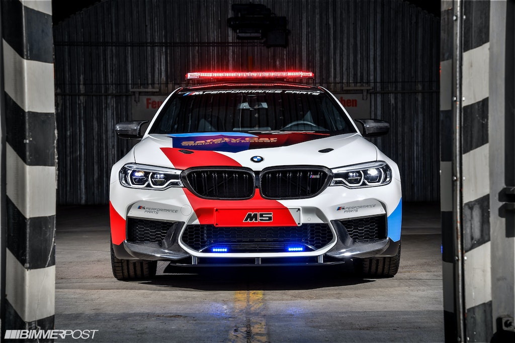 3014f212f10 F90 M5 Moto GP Safety Car With M Performance Parts Revealed (Updated ...
