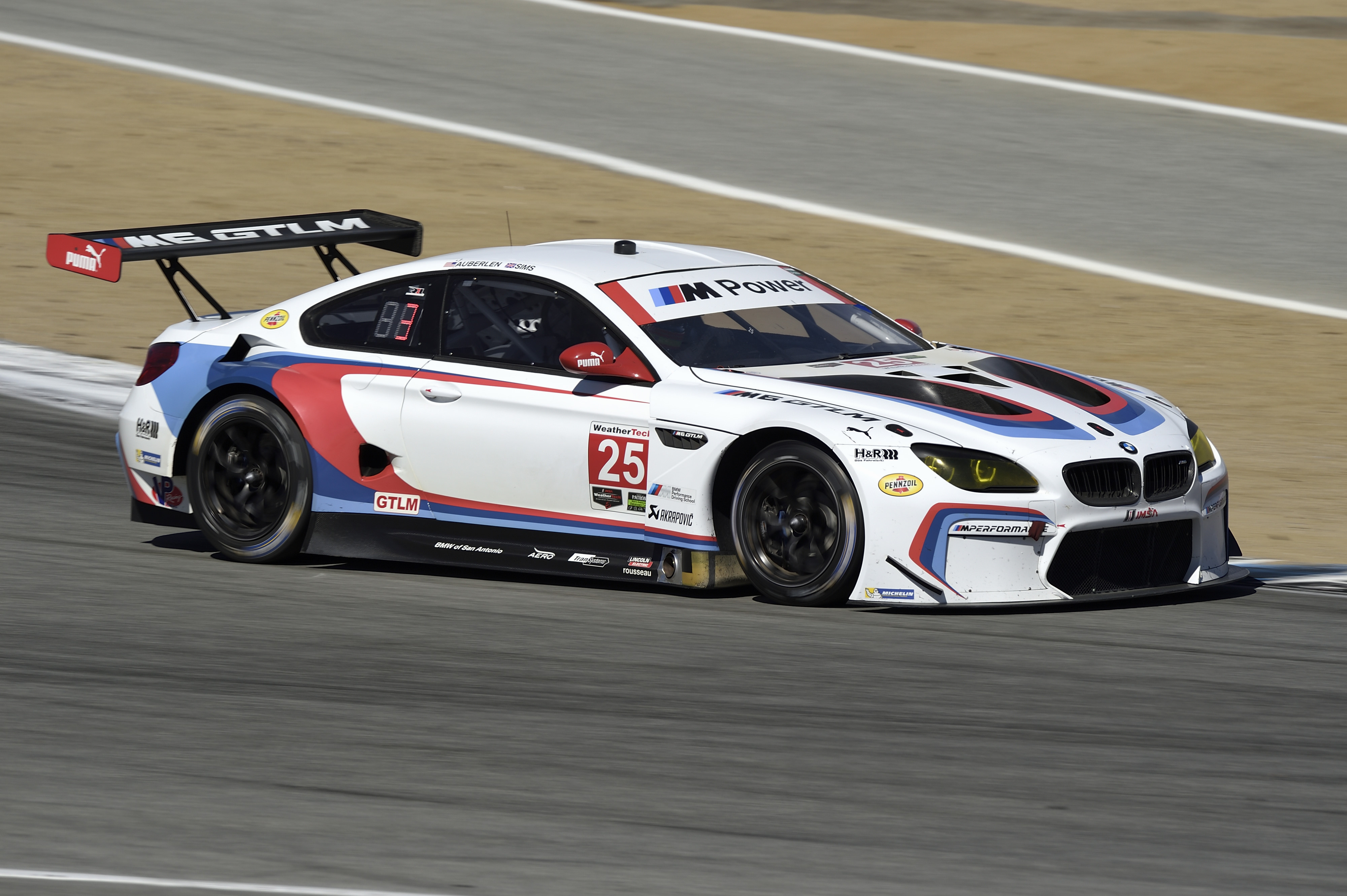 Bmw Team Rll M6 Takes Thrilling Victory At Laguna Seca