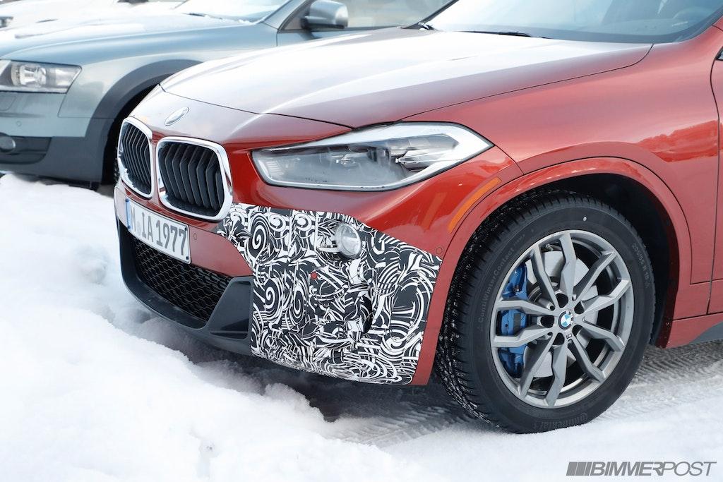 BMW X2 M35i Spied