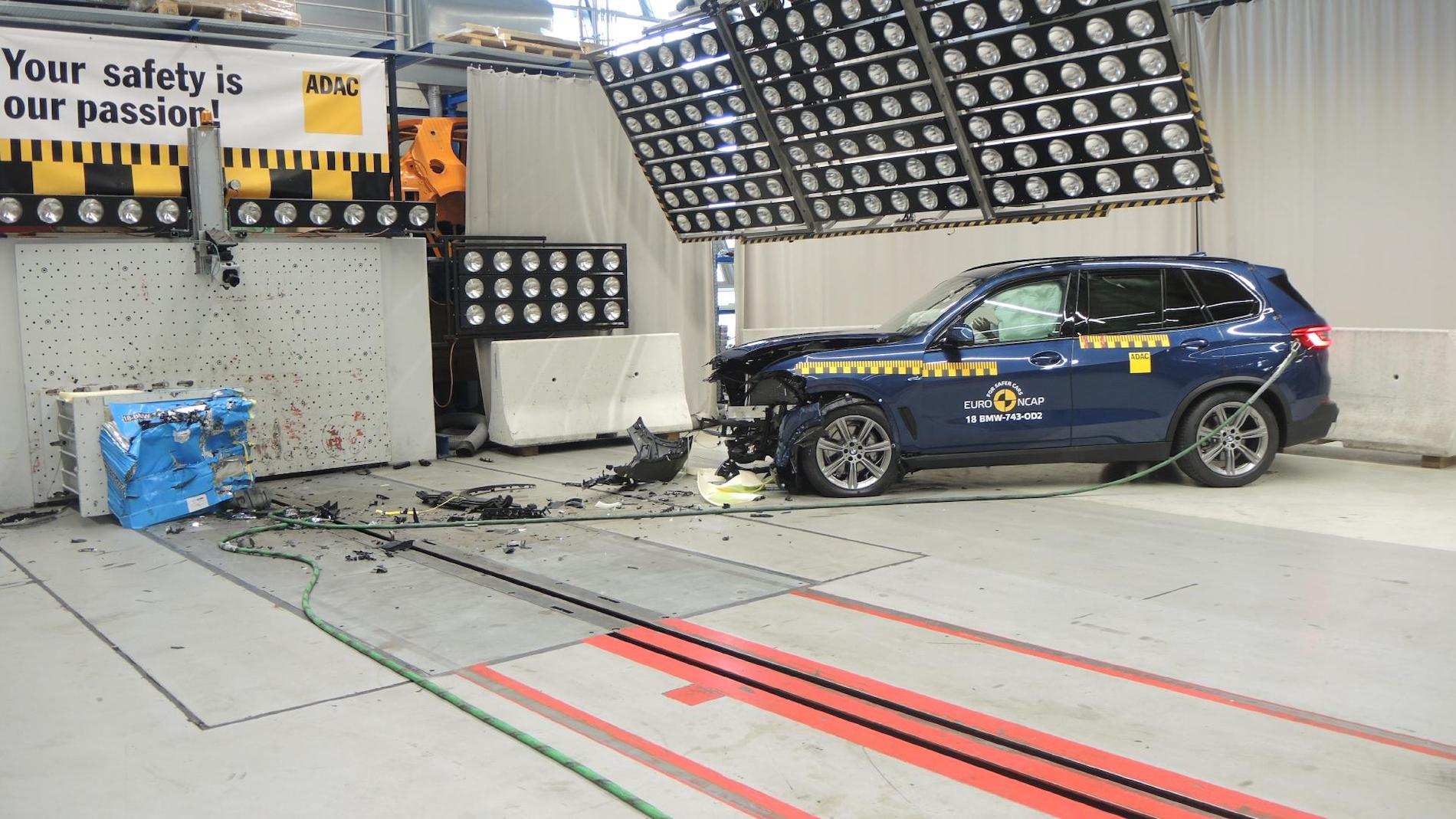 2019 Bmw X5 G05 Scores Full 5 Star Safety Rating In Euro Ncap